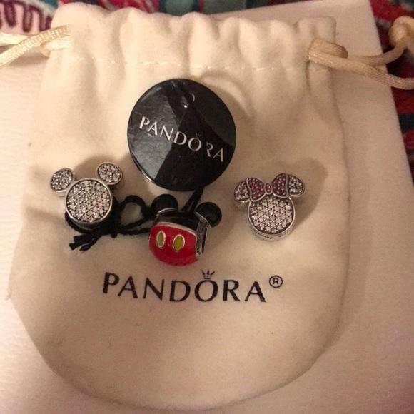Pandora Jewelry Authentic Disney Parks Exclusive Charms Poshmark